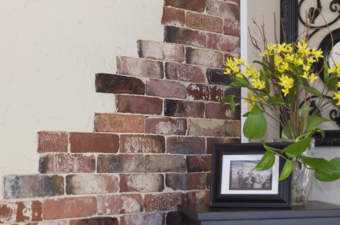brick facade interior wall trendy wondrous stone veneer over brick